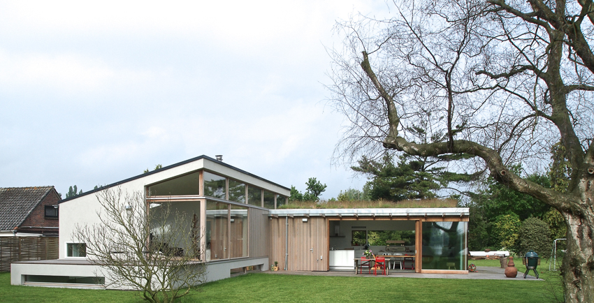 Architect Rijnsdorp Villa ontwerp