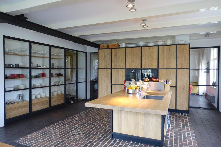 Woon eet keuken kamer rijnsdorp - Eetkamer keuken ...
