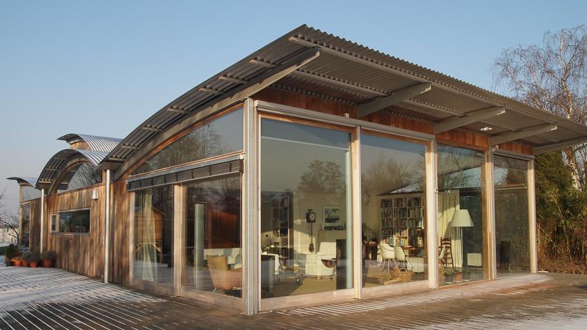 villa aan de Lecksdijk in Reeuwijk